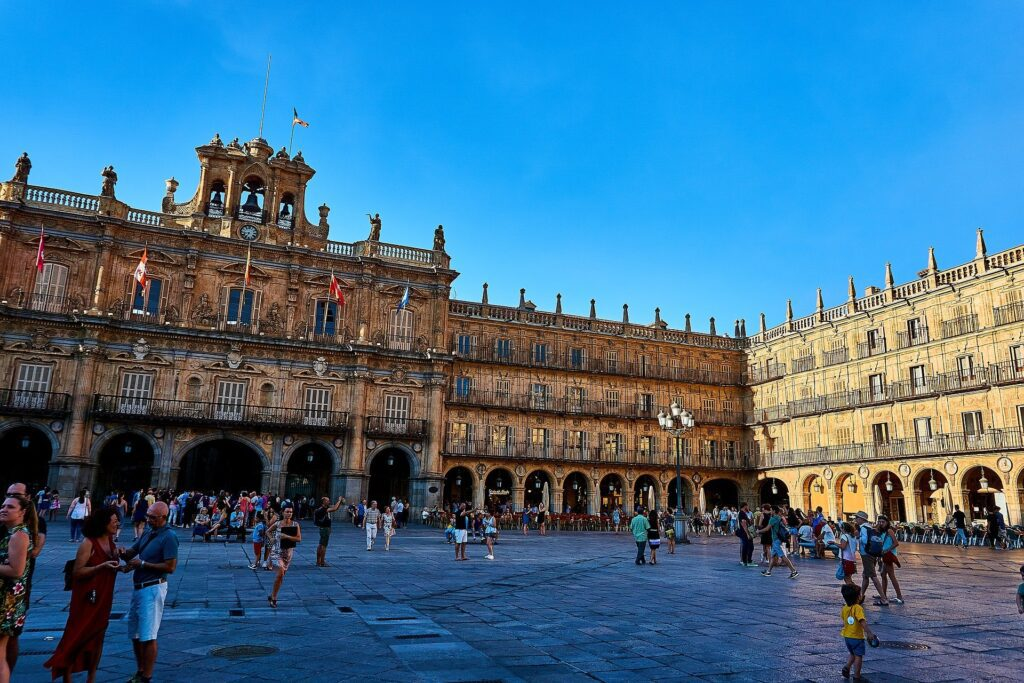 Best places to visit in spain- Plaza Mayor