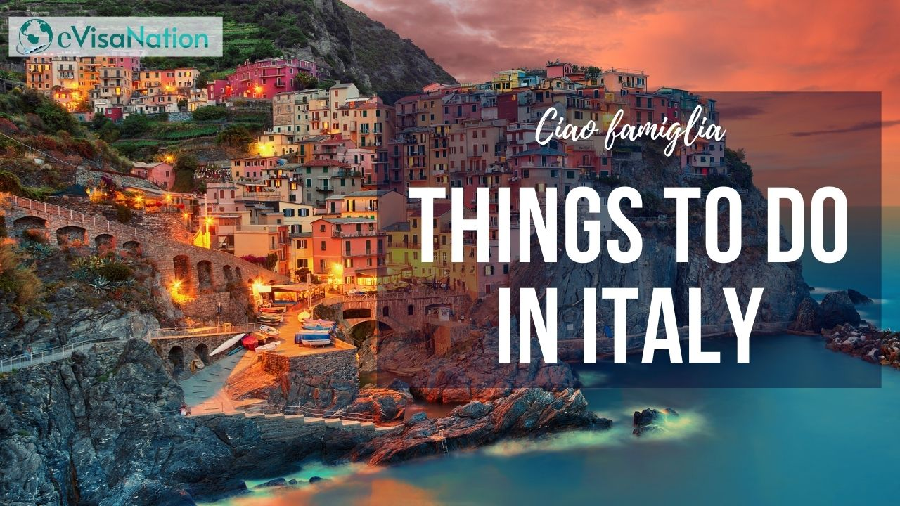 Things to do in Italy